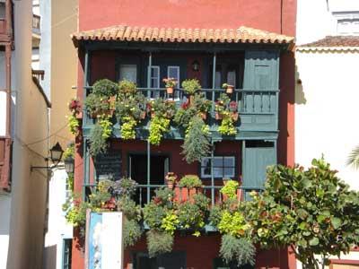 Palmerischer Balkon, Santa Cruz de La Palma