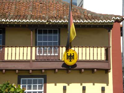 Deutsches Honorarkonsulat, Santa Cruz de La Palma