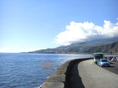 Meerblick von Santa Cruz de La Palma