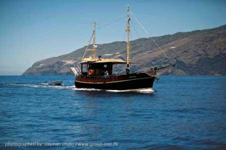 Ausflugsschiff La Palma